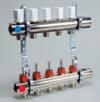 Распределительные коллекторы и принадлежности LUXOR для отопительных систем