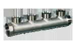 Коллектор на 4 выхода к соединениям типа TP 95, TP 97