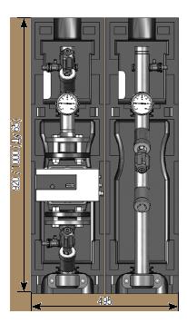 Насосные группы DN40, DN50, DN65 для монтажа на напольных распределителях Майбес