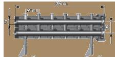 Распределительная гребенка на 3 контура, PN10