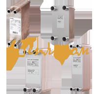 Пластинчатый теплообменник для теплого пола купить Паяный теплообменник Alfa Laval CBH16-41H Бузулук
