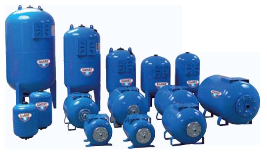 ZILMET - мембранные баки для систем водоснабжения