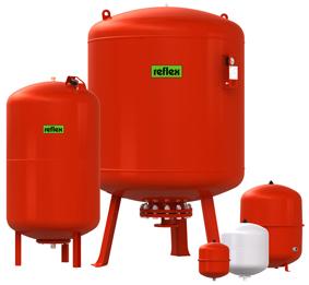 Мембранные расширительные баки для систем отопления и охлаждения REFLEX NG и N