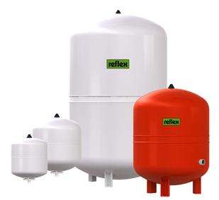 Мембранные расширительные баки для систем отопления и охлаждения REFLEX S