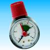 Клапан предохранительный с манометром для отопления и горячего водоснабжения Watts SVМ