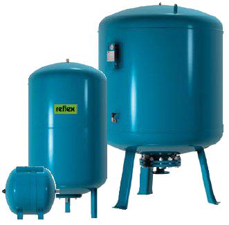 Гидропневмобаки для систем питьевого водоснабжения REFLEX