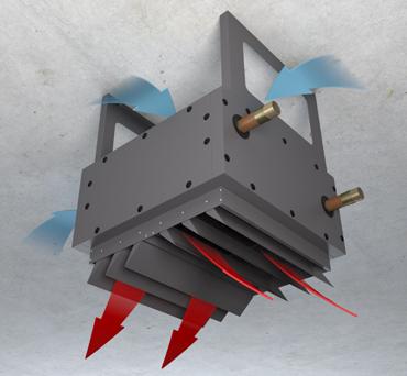 Потолочный монтаж тепловентилятора Varmann VH