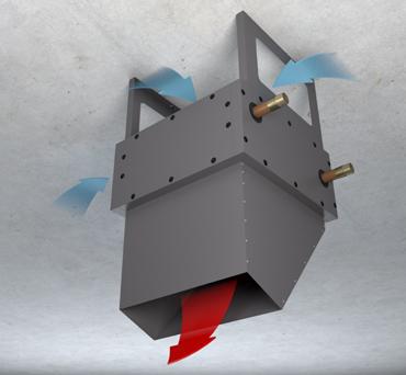 Косой и прямой сопловой модуль VHNS.