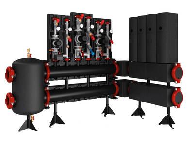 Модульные распределительные системы для отопительных установок до 2,5 МВт
