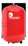 Мембранный бак для отопления Wester WRV